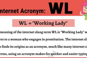 """WL Meaning: What Does This Interesting Acronym """"WL"""" Mean? 11"""