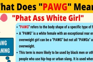PAWG Meaning: What Does PAWG Mean? Interesting Text Conversations 8
