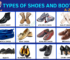 Types of Shoes and Boots - Vocabulary Word List 52